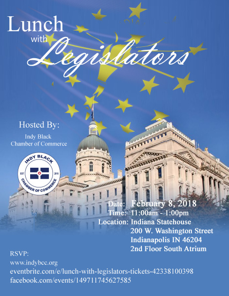 Indy Black Chamber of Commerce: Lunch w/ Legislators